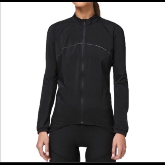NWT Lululemon black City to Summit Cycling Jacket